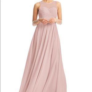 Azazie Dusty Rose Nina Dress